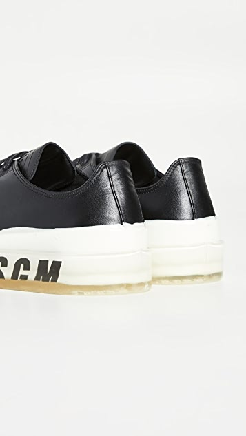 MSGM Dipped Sole Sneakers