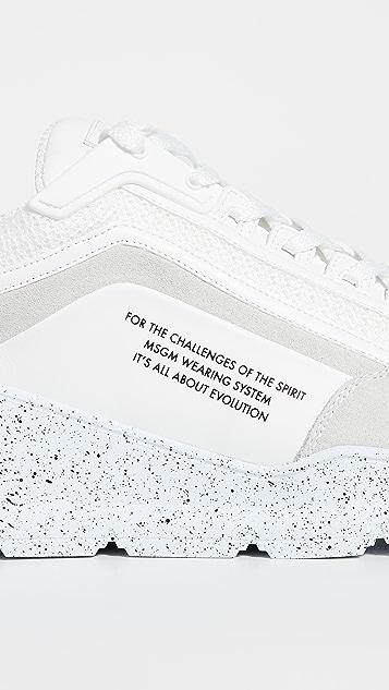 MSGM Runner Sneakers