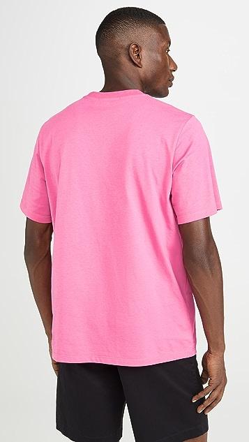 MSGM Upside Down Fast Logo Tee Shirt