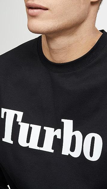 MSGM Turbo Long Sleeve Tee Shirt