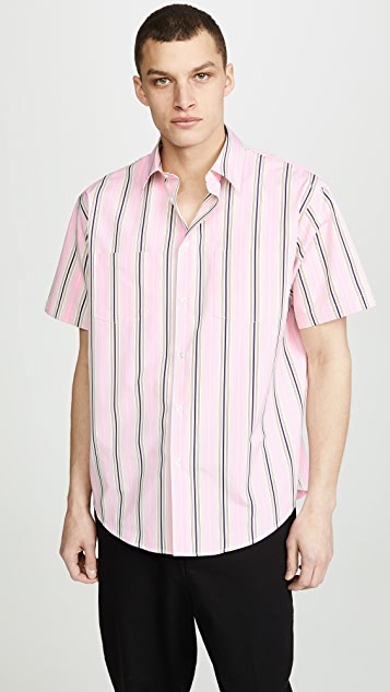 MSGM Ombre Striped Shirt