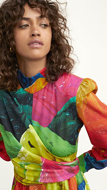MSGM Multicolor Dress