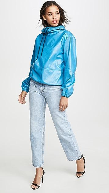 MSGM Vinyl Sweatshirt