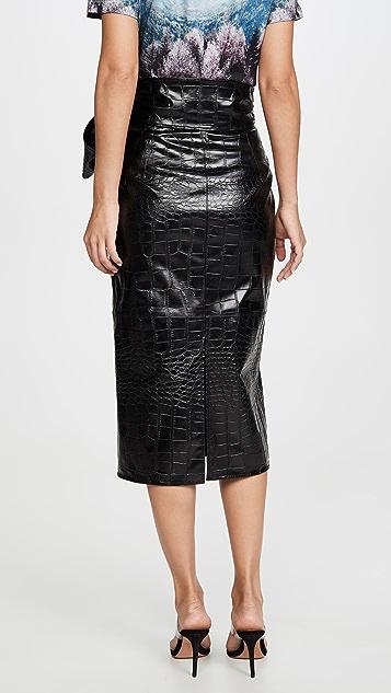 MSGM 束腰中长半身裙