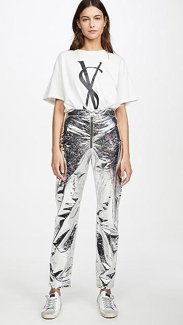 MSGM 金属色长裤