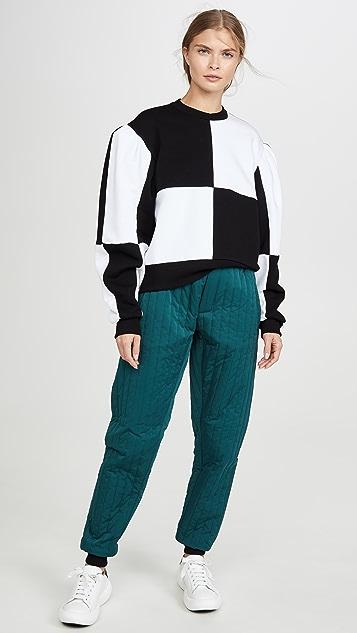 MSGM Colorblock Pullover