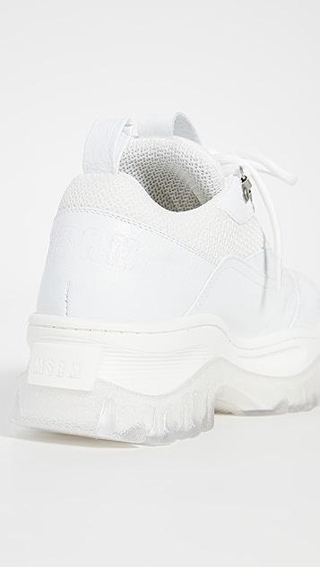 MSGM Массивные кроссовки