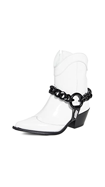MSGM Chain Ankle Boots