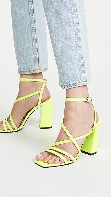 MSGM 系带凉鞋