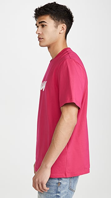 MSGM Upside Down Logo T-Shirt