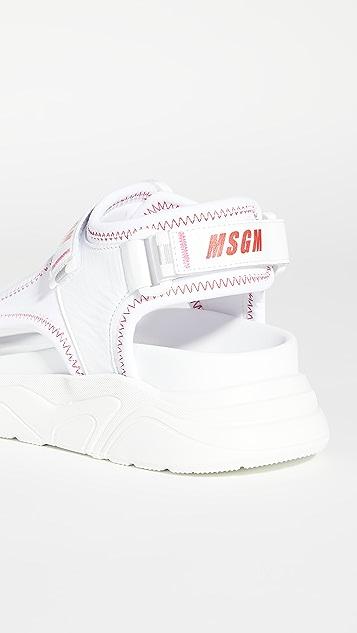 MSGM 运动风格凉鞋