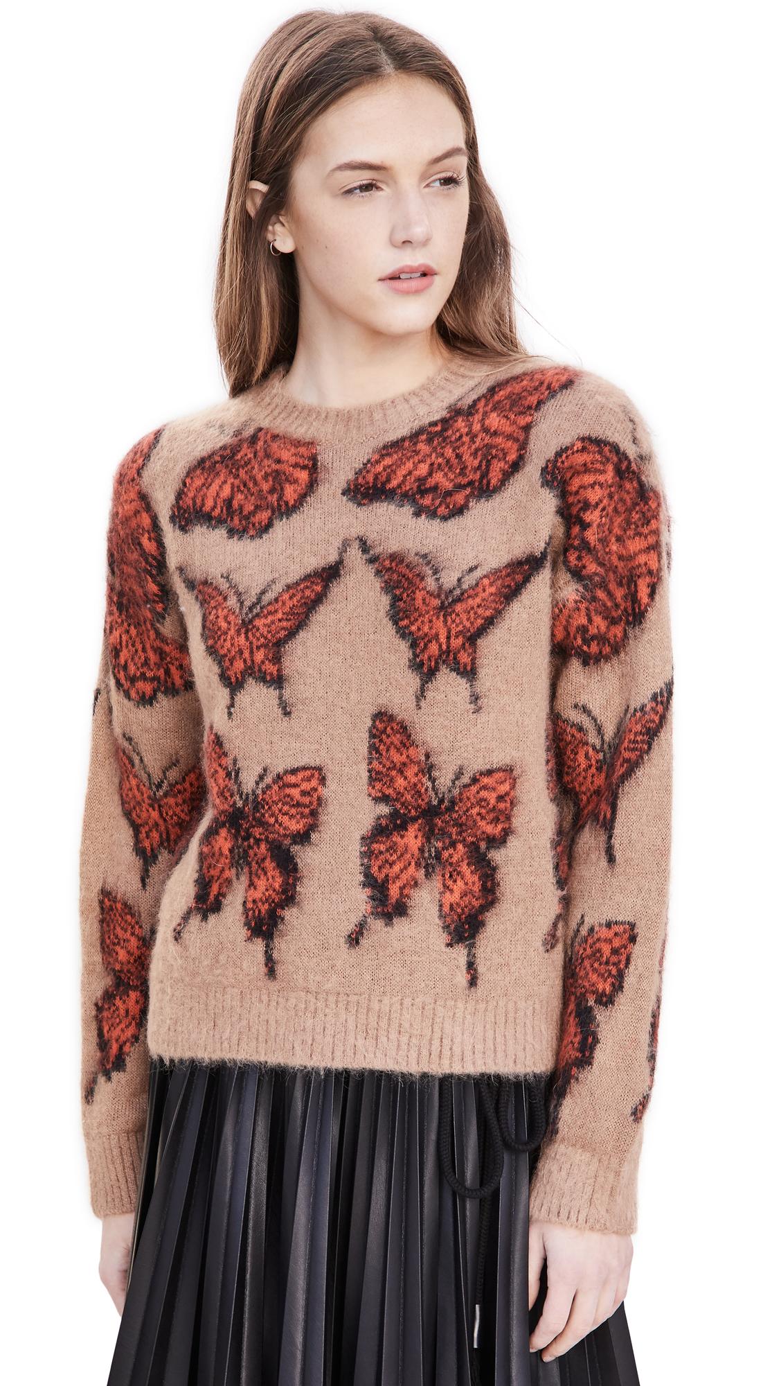 MSGM Maglia Crew Neck Sweater