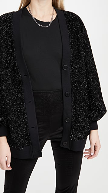 MSGM Shimmer 系扣衫
