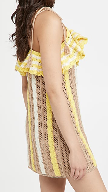 MSGM Crochet Dress