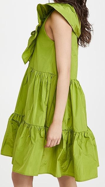 MSGM Ruffle Dress