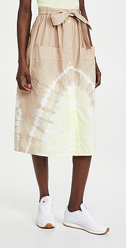 MSGM - Tie Dye Skirt