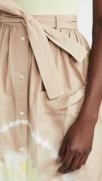 MSGM Tie Dye Skirt