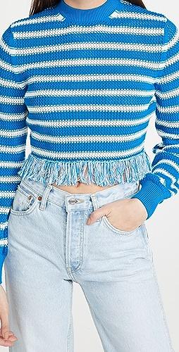MSGM - Fringe Sweater