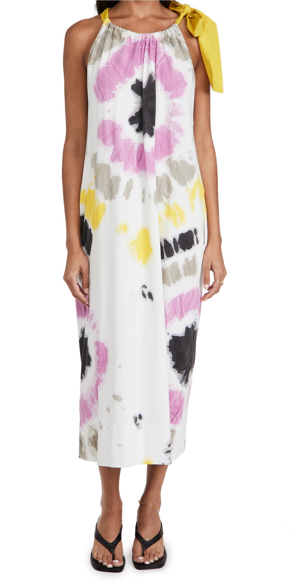 MSGM Tie Dye Sun Dress