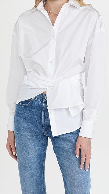 MSGM Tie Waist Shirt