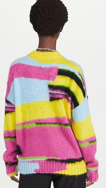 MSGM 多色毛衣
