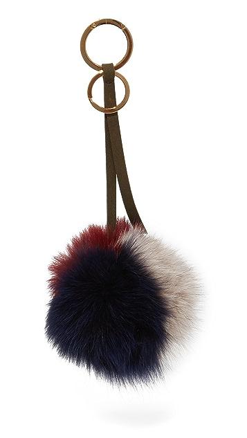 Mischa Lampert 3 Tone Pom Bag Charm