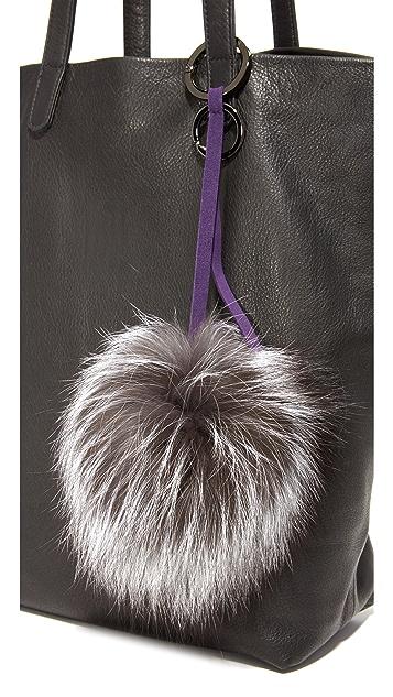 Mischa Lampert Pom Bag Charm
