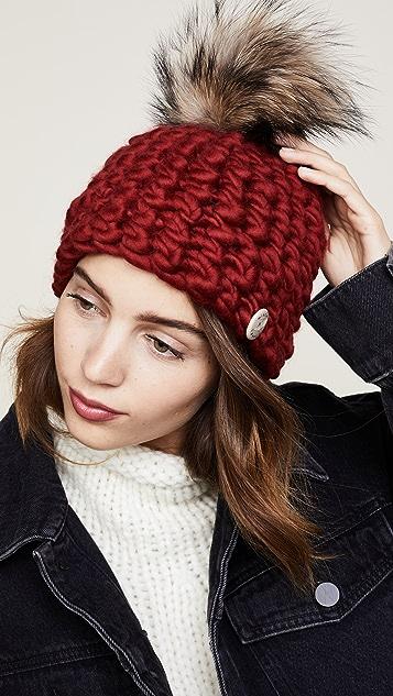 Mischa Lampert Beanie Pomster Hat