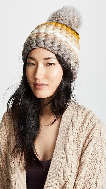 Mischa Lampert Stripe Beanie Hat