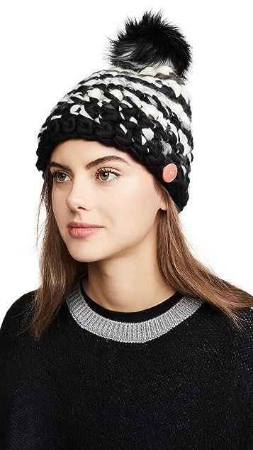 Mischa Lampert 深条纹帽子