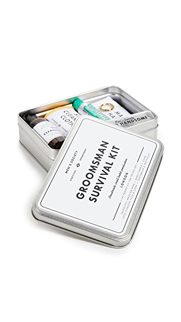 Men's Society Groomsman Survival Kit