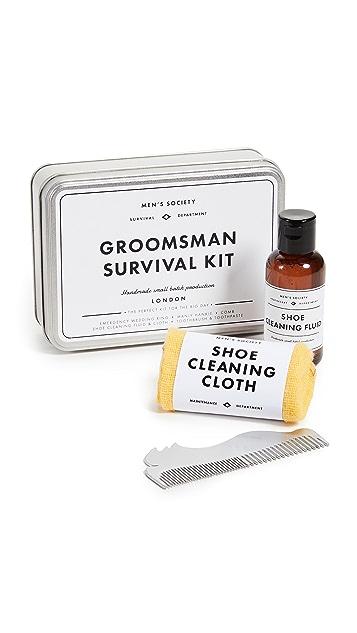 Men's Society Groomsman Survival Kit