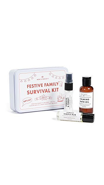 Men's Society Festive Family Survival Kit