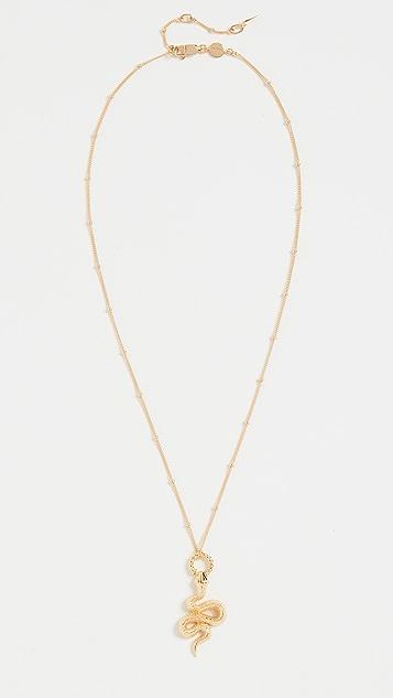 Missoma Gold Snake Necklace