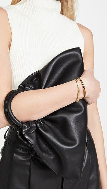 Missoma Gold Camail 蛇纹链手链