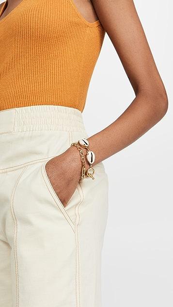 Missoma Gold Deconstructed Axiom Bracelet
