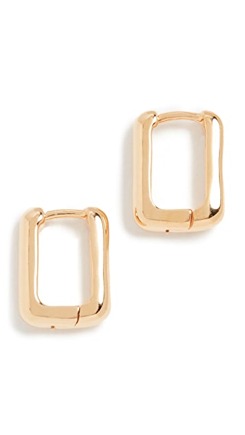 Missoma Gold Mini Ovate Huggies