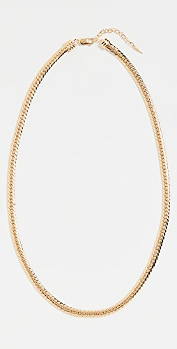 Missoma - Gold Camail Snake Chain Necklace