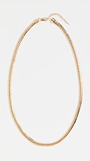 Missoma Gold Camail Snake Chain Necklace