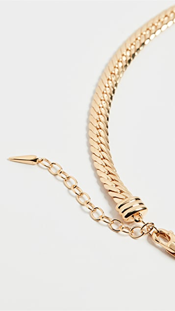 Missoma Gold Camail 蛇纹链项链