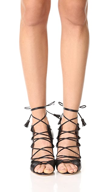 Malone Souliers Savannah Lace Up Sandals