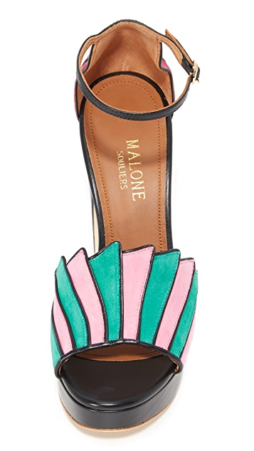 Malone Souliers Lillian Platform Sandals