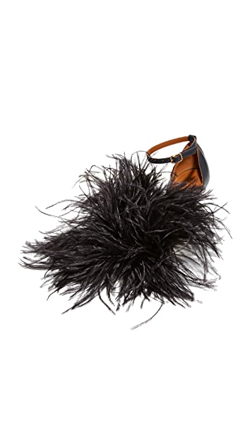 Malone Souliers Nicoletta Feather Sandals
