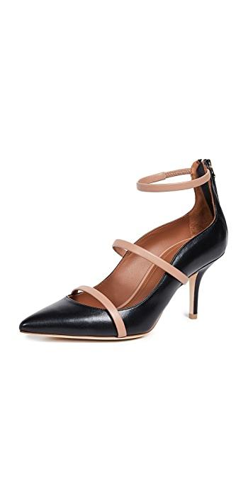 Malone Souliers Robyn Pumps - Black/Nude
