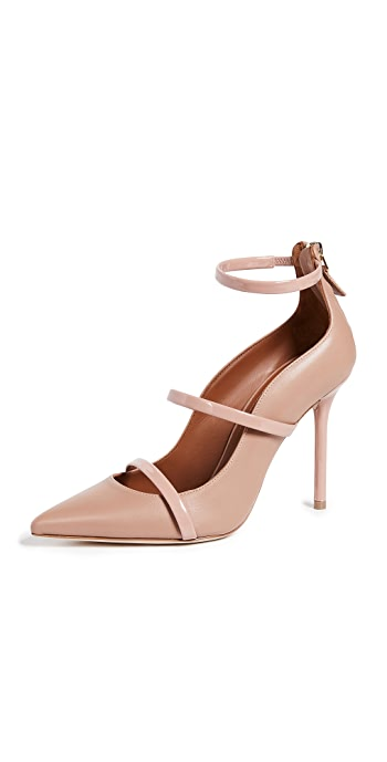 Malone Souliers Robyn 100mm Pumps - Nude/Blush