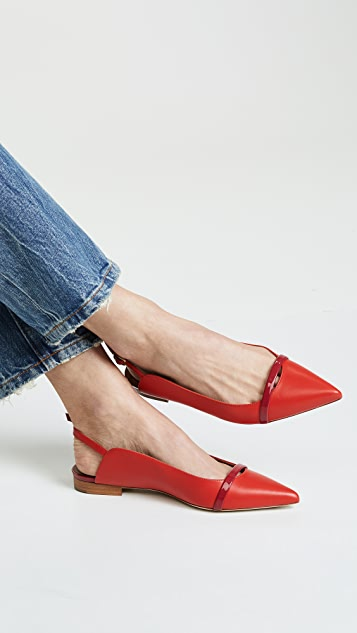 Malone Souliers Marion Slingback Flats