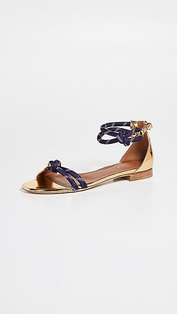 8f7a746bbf469 Malone Souliers Fenn Flat Sandals