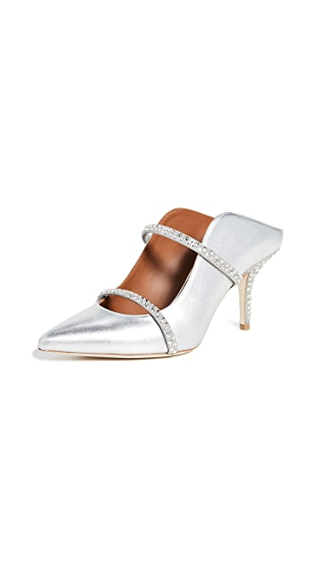 Malone Souliers Maureen Crystal 70mm Mules