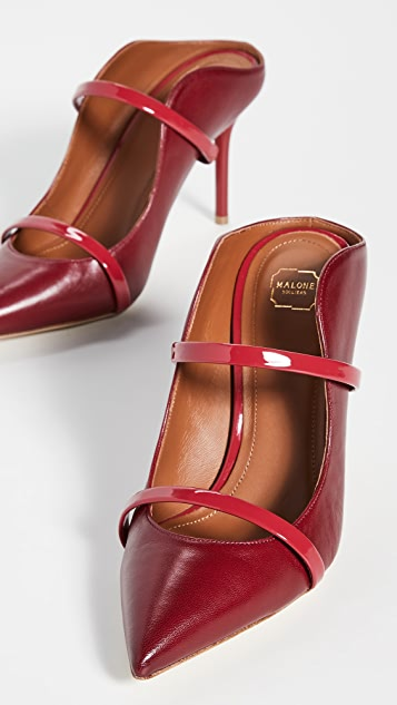 Malone Souliers Туфли без задников Maureen на каблуках высотой 85 мм
