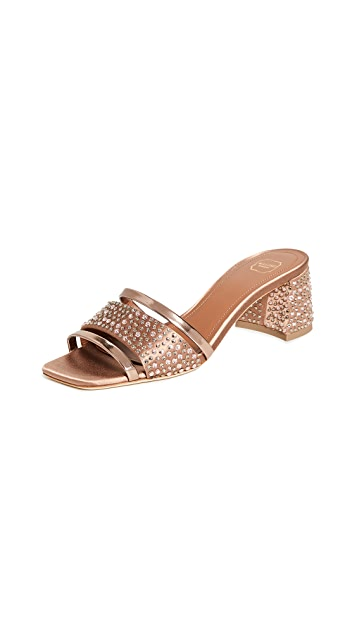 Malone Souliers Rosa Mules 45mm